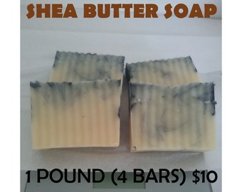 1 Pound Of Shea Butter Soap