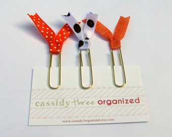 Fall Football Planner Clips, Planner Clips, Organizer Clips