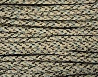 100 ft hank of Sand Camo 550 Paracord