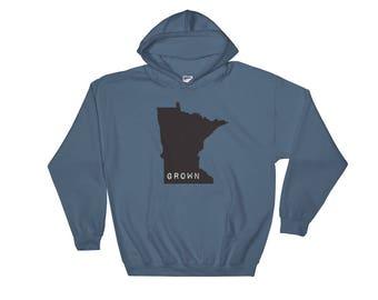 Hooded Sweatshirt - Minnesota Grown Hoody