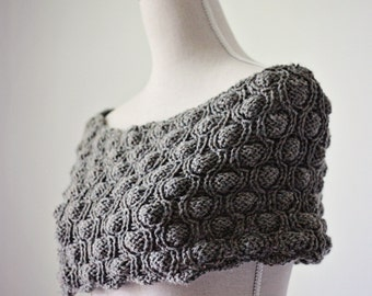 Knitting PATTERN  - Cocoon Snood