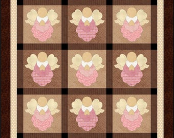 Blessings applique quilt pattern
