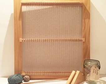 ON SALE!! Weaving Loom Kit - 3-Position Weaving Loom Kit, Loom, Frame Loom, Weaving kit, Table loom, Lap loom, Loom kit, Hand loom, Weaving