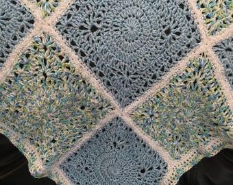 Baby Boy Crocheted Blanket