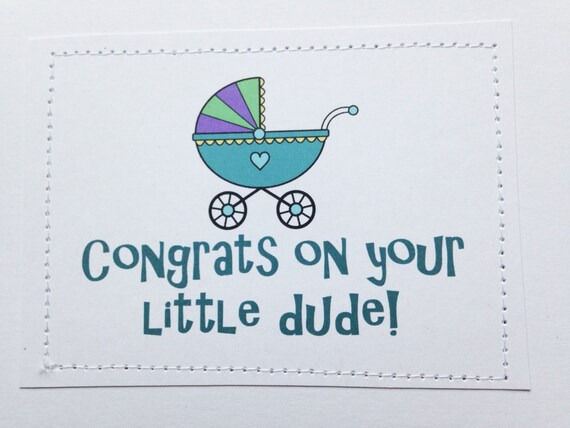 congrats for the baby boy