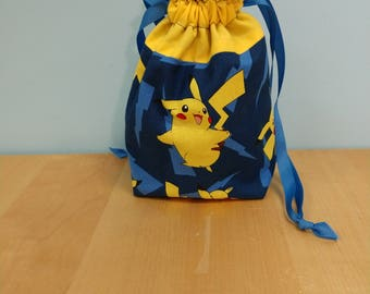 Pokemon Dice Bag Pikachu Bolt