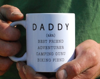Dad Mug - Father's Day Gift - Gift for Him - Gift for Dad - Personalised Mug - Ceramic Mug - Daddy - Gift from Young Children - Grandad Gift