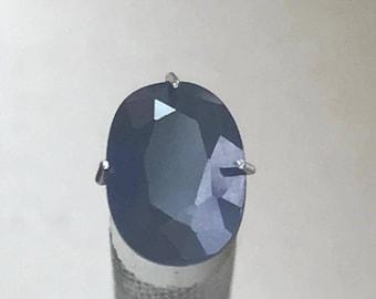 2.60ct Genuine Blue Sapphire 9.39mmx7mm