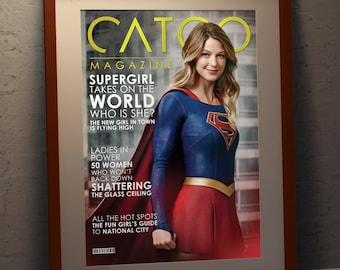 Supergirl - Faux Magazine Cover