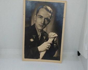 Flash 50% off sale Original WW2 US Photograph of War Correspondent