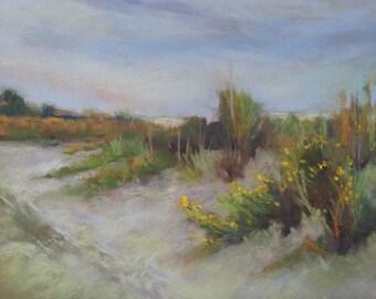 Dunes - 8x10 - Pastel