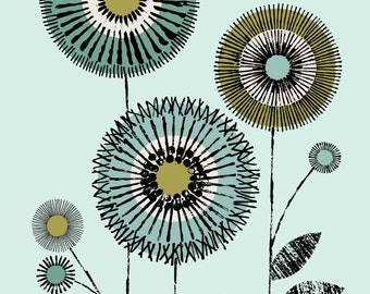 I Love Flowers No1, limited edition giclee print