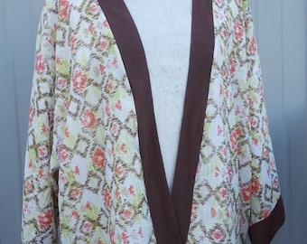 Rustic Kimono Cardigan