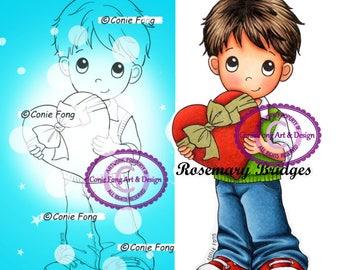 Digital Stamp, Digi Stamp, digistamp, I Love You Benny, Conie Fong, Boy, heart, Mother's Day, Valentine's Day, Valentines, anniversary