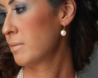 Coin Pearls Earrings