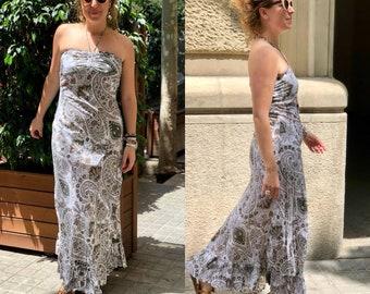 Printed Cotton long dress