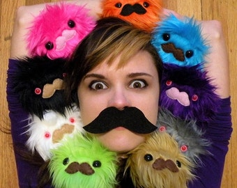 Mustache Monster- Choose your color