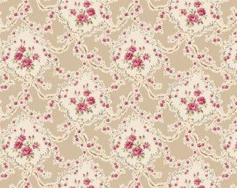 Victorian Rose RuRu Bouquet by Quilt Gate - 1/2 yard