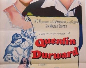 Quentin Durwood - 1955 - Original Australian Daybill