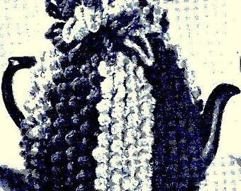 Popcorn Tea Cosy Crochet Pattern - 3 sizes 723044