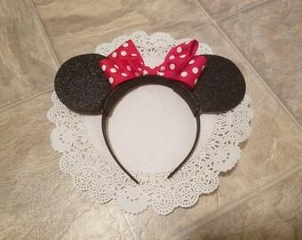 Minnie & Mickey Mouse Hairband