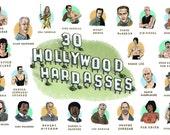 30 Hollywood Hardasses Po...