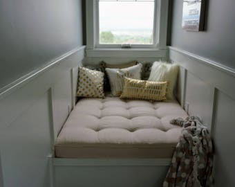 Window or Bench Seat Nook Cushions Custom Made EXAMPLE