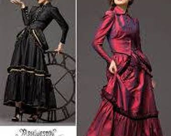 Simplicity 2207 XS-XL Costume pattern Renn Fair, SCA, Larp, Steampunk, Old West