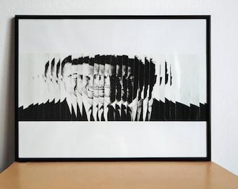 MultiPersonality Original Handmade Collage