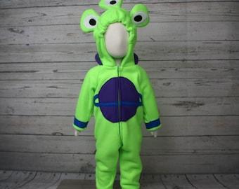 Toddler Fleece Alien Costume