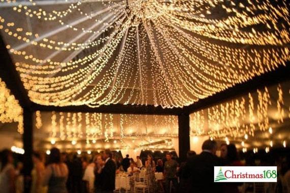 Delightful 64 Feet 200 LED String Fairy Lights Wedding Garden Party Xmas