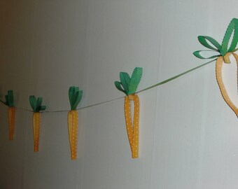 Bristol - Theme Easter carrot Garland