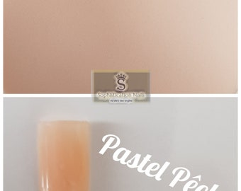 Resin acrylic nails 10gr Pastel peach