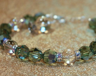 Perception - Therapeutic Sacred Energy Infused Swarovski Crystal Healing Bracelet by Crystal Vibrations Jewelry