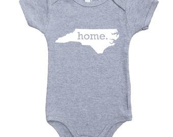 Homeland Tees North Carolina Home Unisex Baby Bodysuit