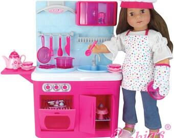 "18"" Doll Chef's Kitchen"