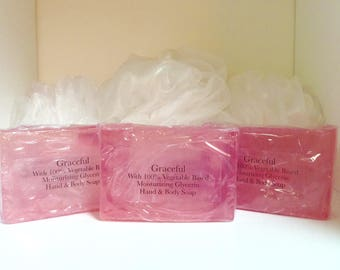 Graceful Soap, Natural Soap, Hand and Body Soap, Lotions and Potions
