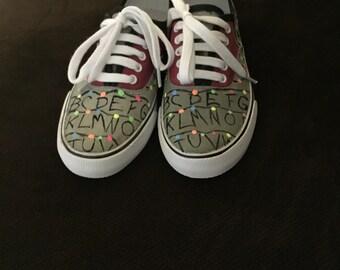 Custom Stranger Things Shoes