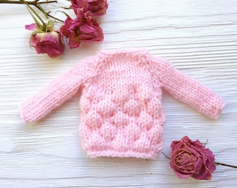 knitted sweater for blythe Blythedollclothes   blytheaccessories  blythedolloutfits  clothesforblythe  knittingforblythe  dollclothes