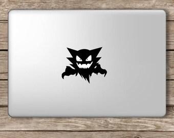 Haunter Vinyl Decal Sticker Ghost Gastly Laptop MacBook Room Decor Nursery