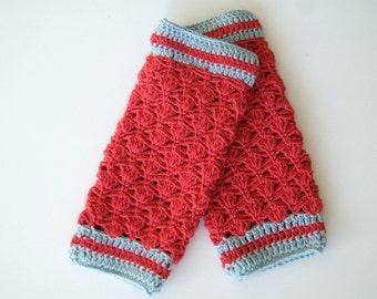 Red Baby Leg warmers, Baby Girl Leg Warmers Crochet, Newborn Leg Warmers, Crochet Leg Warmers Girl, Newborn Girl Leg Warmers