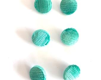 velvet covered buttons
