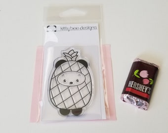 Pineapple Panda Clear Stamp