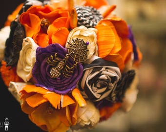 Nightmare Before Christmas Inspired Alternative Keepsake Bouquet