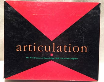 1990 Articulation Game COMPLETE Great Condition FREE SHIPPING