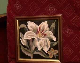 Beautiful Vintage Floral Tapestry
