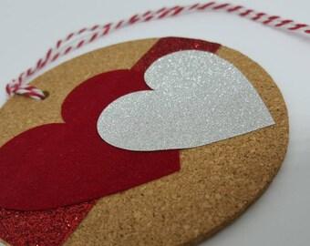 love gift tag cork