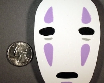 Spirited Away - No Face Wood Ornament