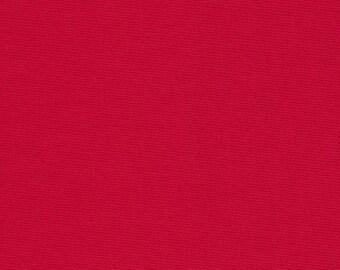 Kona Cotton Solid - Cardinal - 1 YARD - Robert Kaufman Fabrics K001-1063