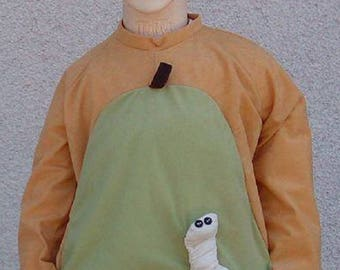 Pear costume for toddlers, kids and adults